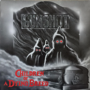 "Gunshot ‎- Children Of A Dying Breed (12"") (VG+/VG)"